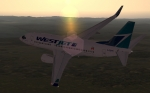 Westjet Virtual's Next Gen 737