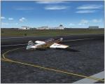 Zlin landing