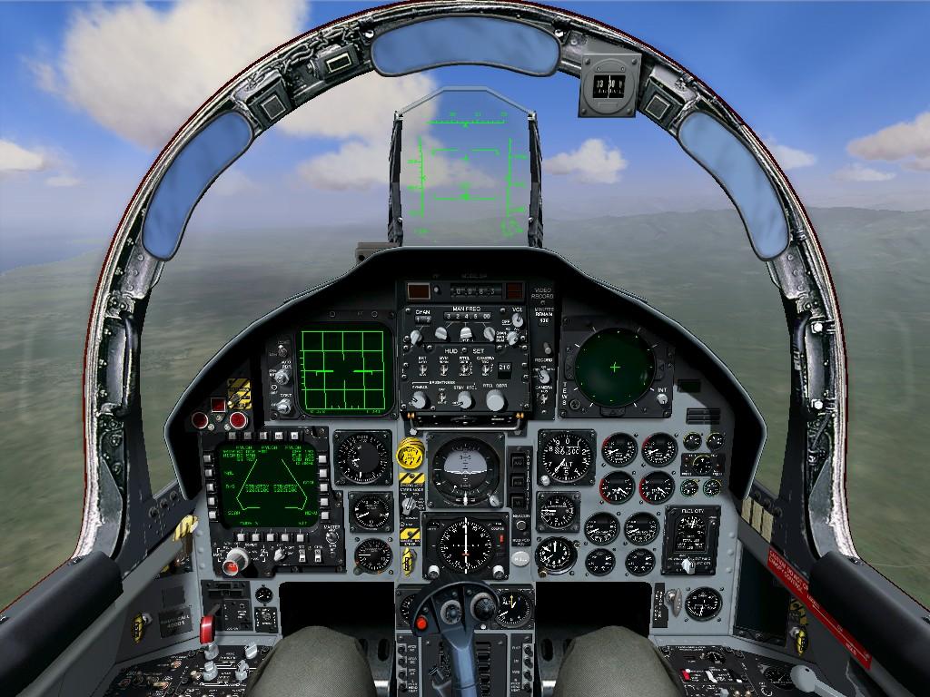X15 Cockpit Check  SierraFoot
