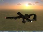 A-10 at Dusk