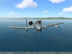 A-10 over the ocean