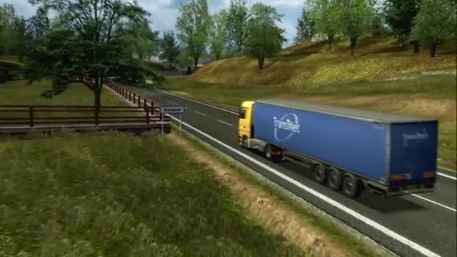video uk truck simulator official trailer. Black Bedroom Furniture Sets. Home Design Ideas