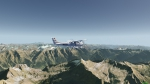 "Flight over the Swis Alps with ""Aeroflight"""