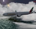 Prepar3d PMDG 777-300ER EK386 OMDB-VHHH