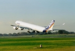 Airbus A340-600 House Colors Take-Off