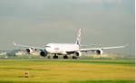 Airbus A340-600 Rolling Down Runway