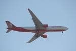 Air Berlin A330 on short
