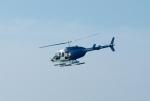 Bell Jet Ranger over Miramar Beach, Fla.