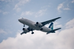 Silkair A320 coming in for a landing..