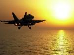 F18 Sunset