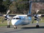 Dash 8 Heading out to Runway At Nelson