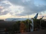 Air New Zealand 767 at apia samoa