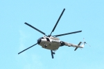Mi-17 makes a right-360