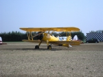 Boeing Stearman parked at Boxted