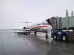 MD82 on ABQ Ramp