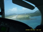 Landing in Beef Island
