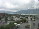 KLM Cargo landing at VHHH