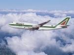 Alitalia Boeing 747 Soaring