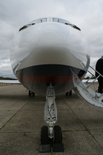 Gulfstream III parked at Dunsfold Airport (EGTD)