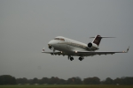 N601PR - Challenger 601 on ground at EGTD