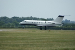 Gulfstream III - Departing Bournemouth Airport / EGHH for France