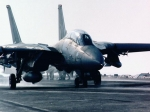 F-14 Carrier Landing