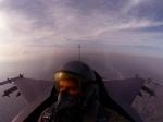 F-16 Pilot View