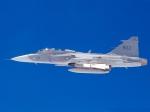 Saab JAS 39 Gripen in Flight