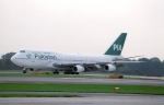 Pakistan International Airlines 747 on Runway