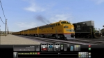 American Union Pacific Train