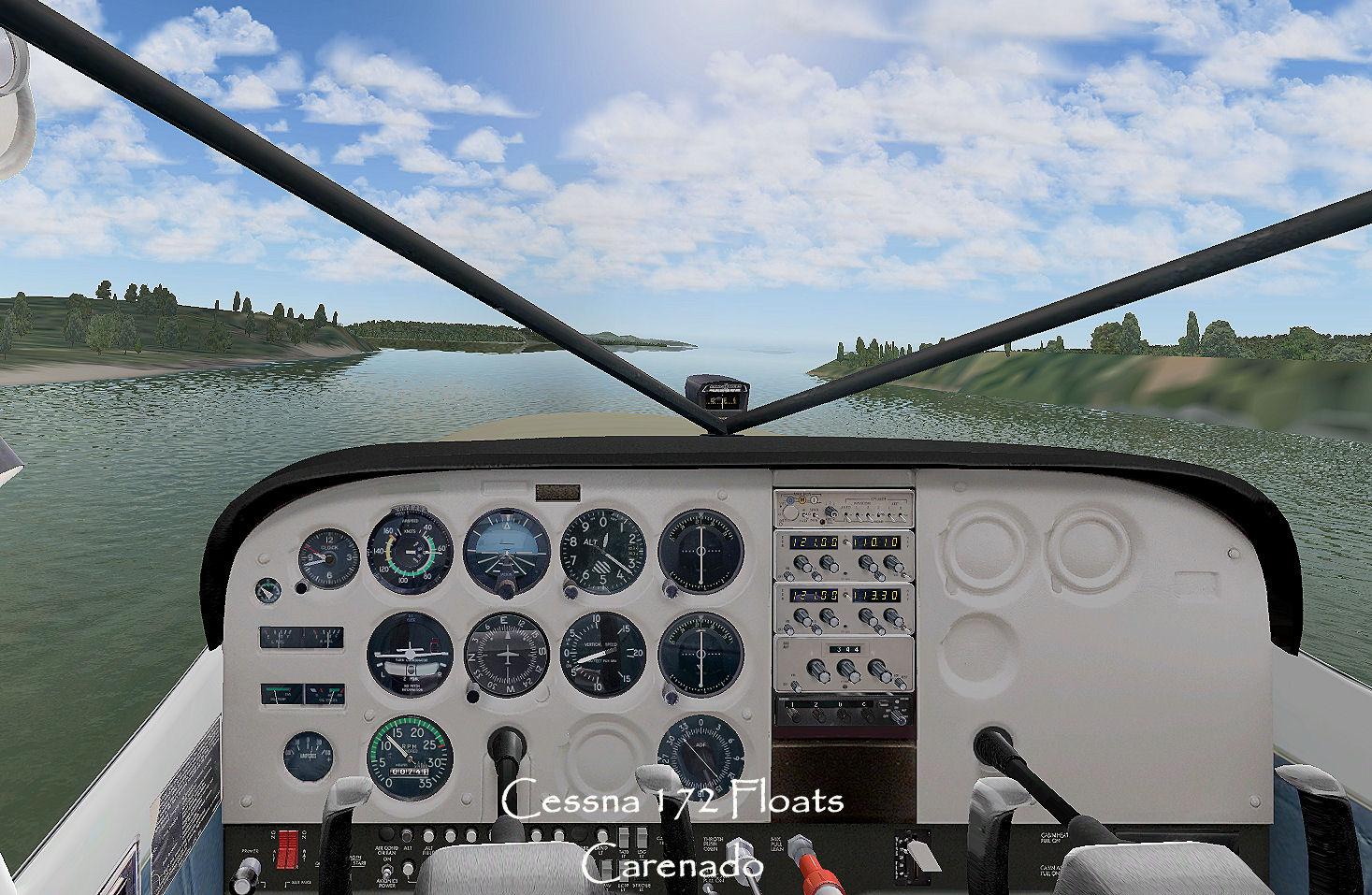 Carenado Cessna 172 Carenado Cessna 172 Panel