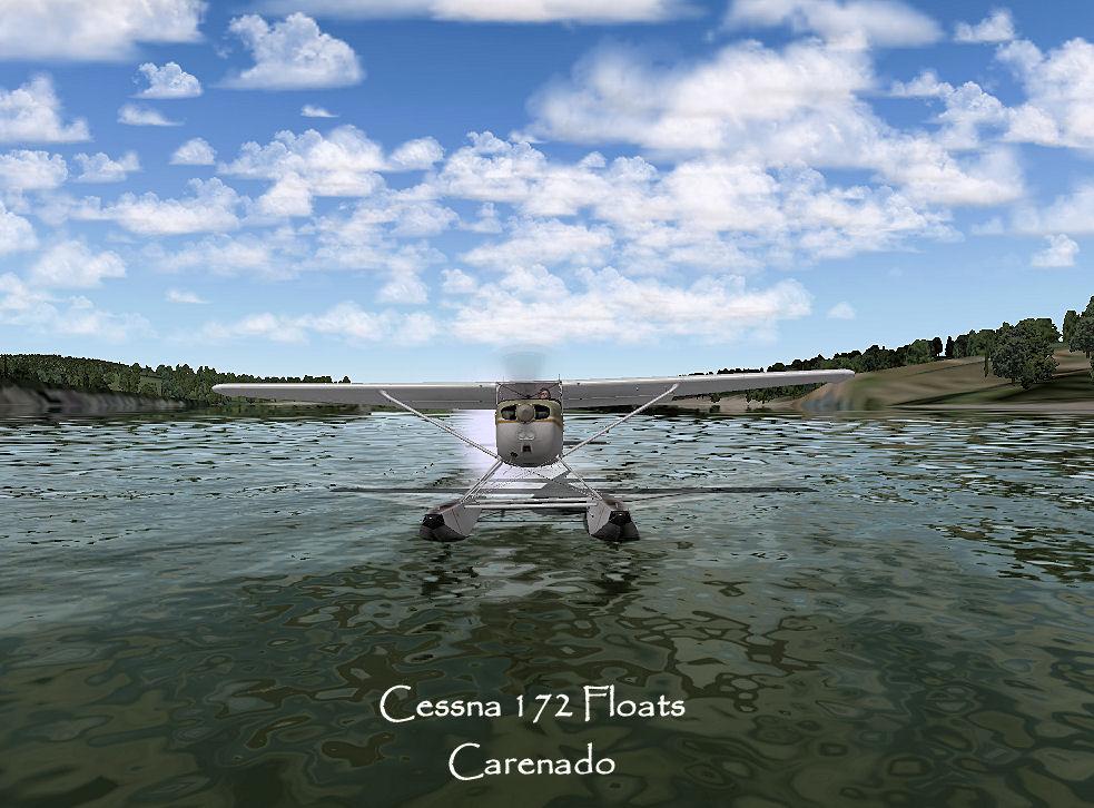 Carenado Cessna 172 Carenado Cessna 172 Floats