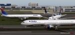 Delta 767 Traffic Jam