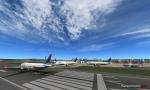 Delta 767's taking off