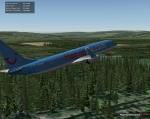 X-Plane forest tree scenery