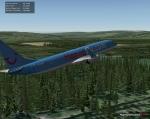 X-Plane forest tree scenery