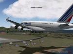 Air France A380 Landing at TNCM