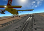 Pilatus PC-6 over Dubai International