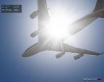 Thai 747 in sunlight