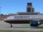 AeroMexico at Madrid Barajas
