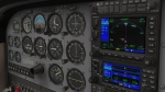 C172 Panel from X-Plane 11