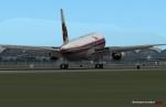 XP Jets Boeing 777 landing