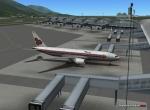 XP Jets Boeing Thai at gate