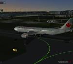 Air Canada Taxiing