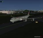 Air Canada Taxiing to runway
